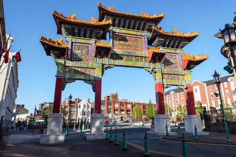 Chinatown - Liverpool Gezilecek Yerler