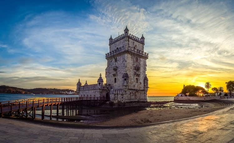 Torre de belem Kulesi - Lizbon