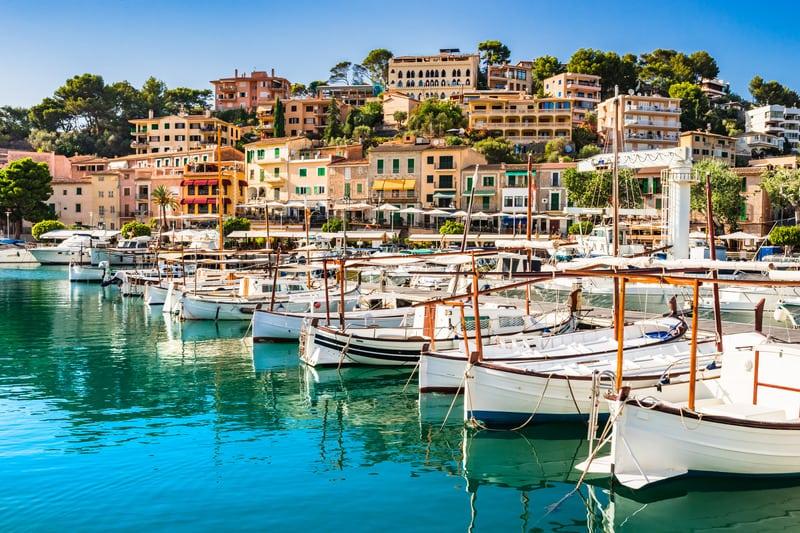 Port de Soller - Soller Limanı ve Kasabası Mallorca