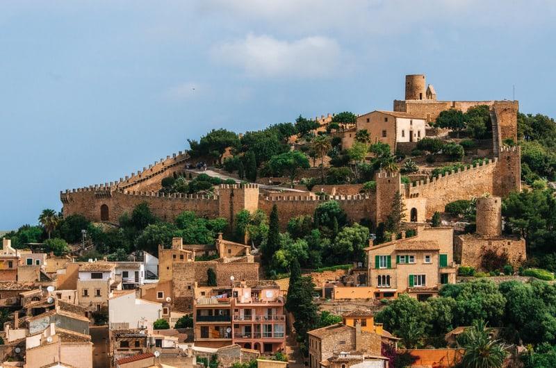 Capdepera Kalesi - Mallorca Gezilecek Yerler