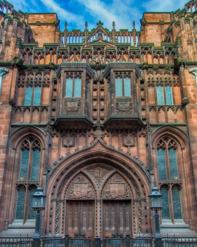 John Rylands Kütüphanesi Manchester