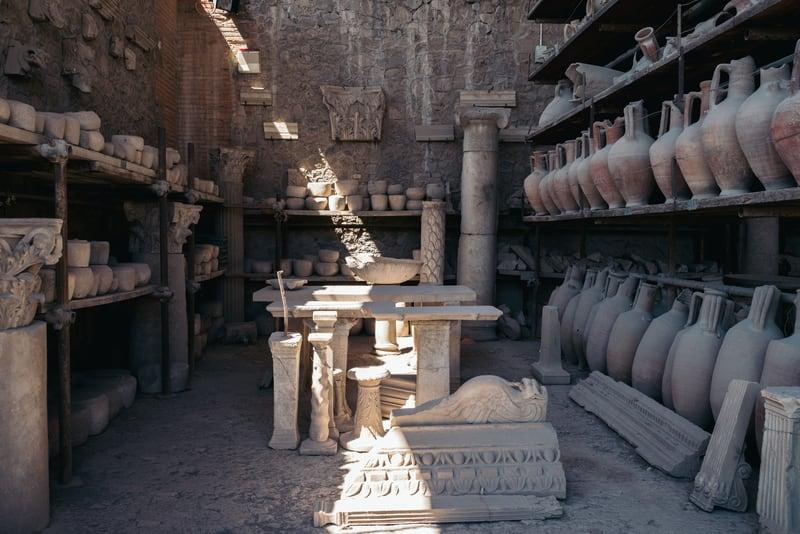 Pompei'nin kalıntıları
