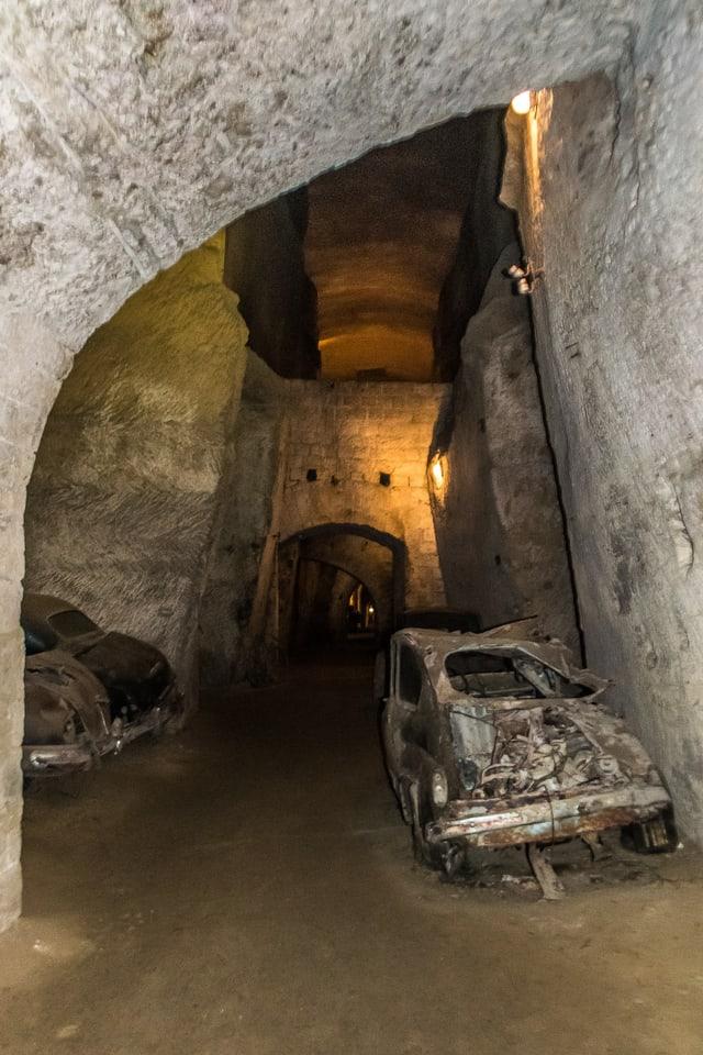 Bourbon Tüneli Napoli