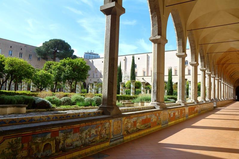 Santa Chiaira Manastırı Napoli
