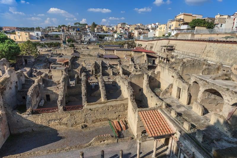 Herculaneum Kalıntıları