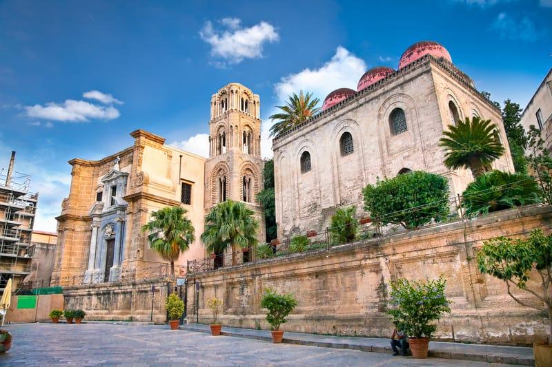 La Martorana Katedrali Palermo