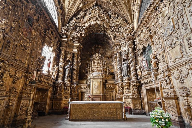 Santa Clara Kilisesi - Porto Gezilecek yerler