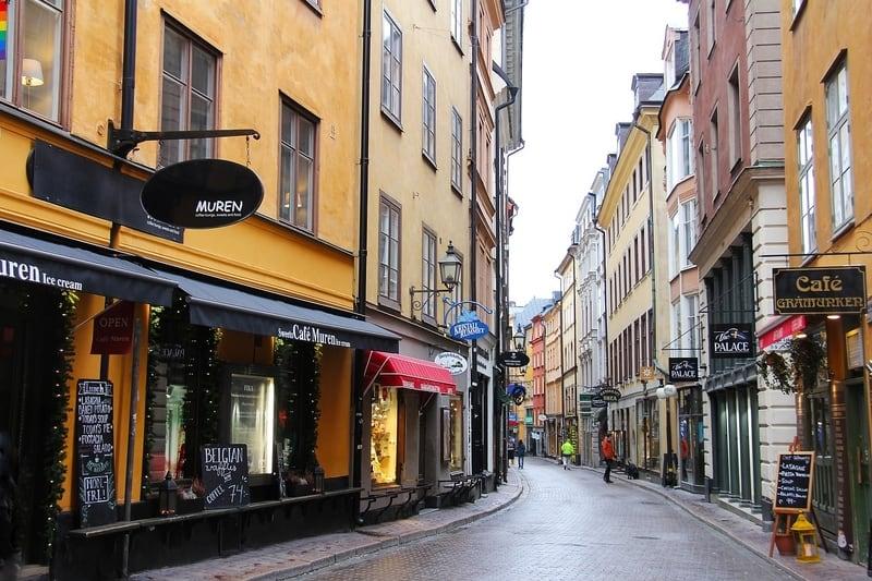 Vasterlanggatan Caddesi Stockholm