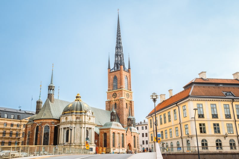 Riddarholmen Kilisesi Stockholm