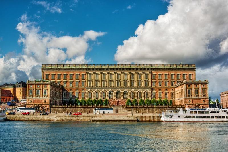 Stockholm Sarayı - Kraliyet Sarayı