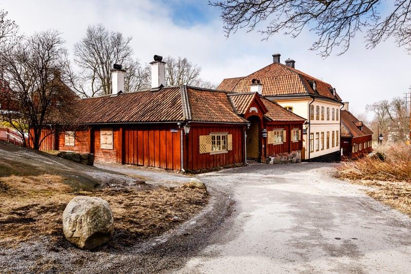 Skansen Açık Hava Müzesi Stockholm