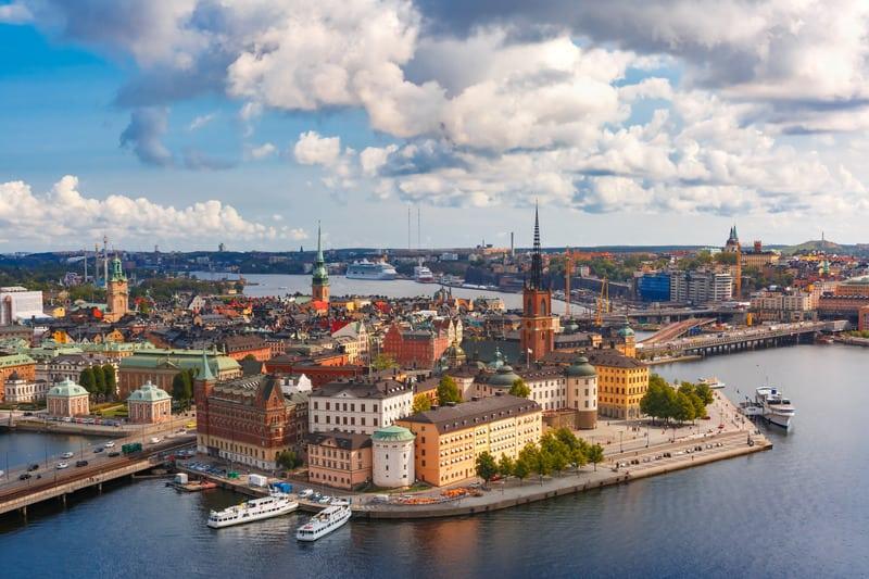 Gamla Stan - Eski Şehir Stockholm