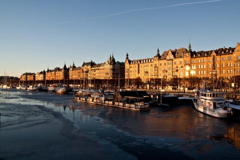 Strandvagen Bulvarı Stockholm