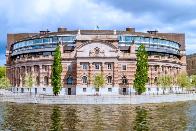 İsveç Parlementosu Stockholm