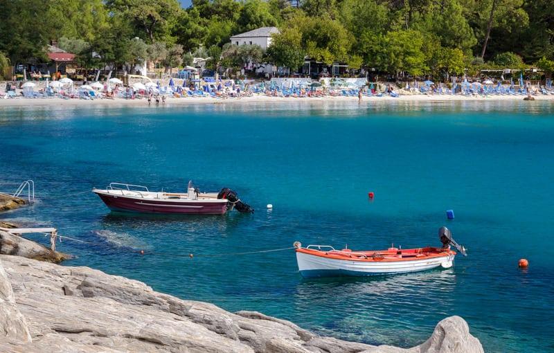 Aliki Plajı Thassos