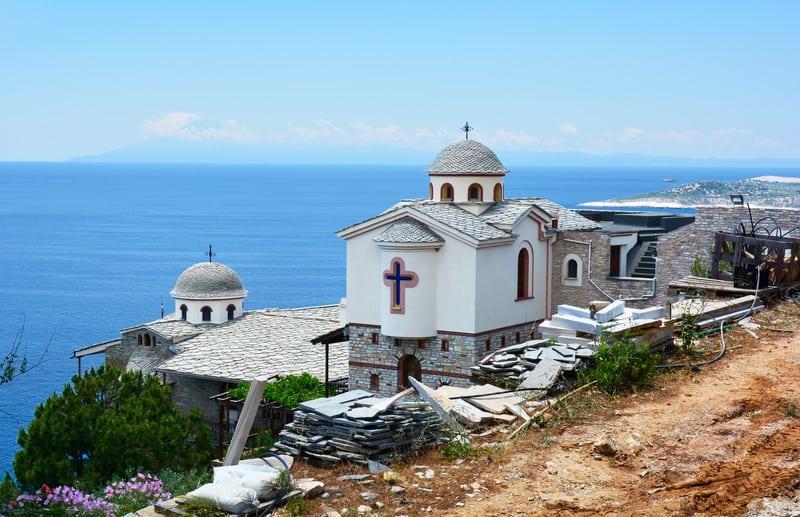Başmelek Mikail Manastırı Thassos