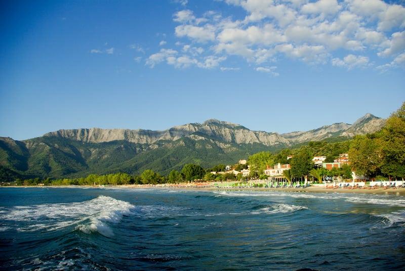 Golden Beach Altın Sahil Thassos