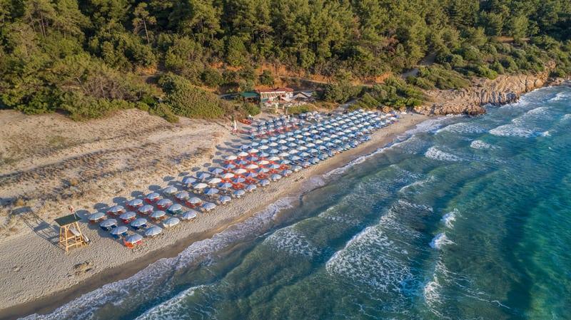 Paradise Beach - Cennet Plajı Thassos