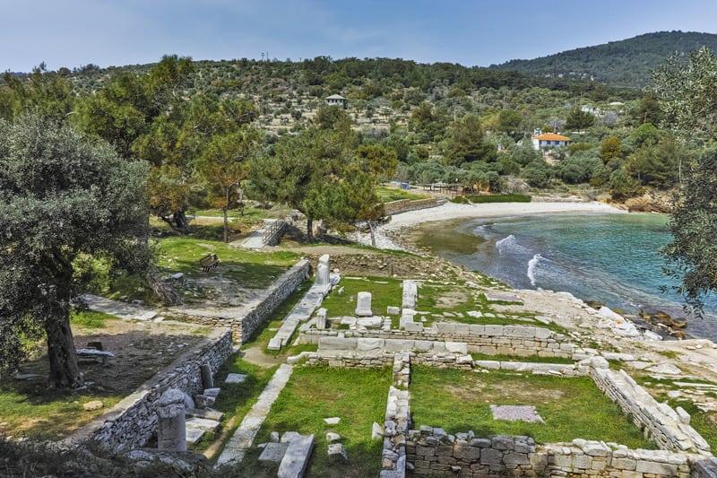 Aliki Arkeolojik Sit Alanı Thassos