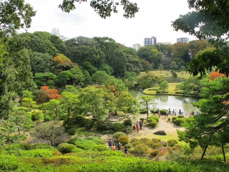 Rikugien Bahçeleri Tokyo