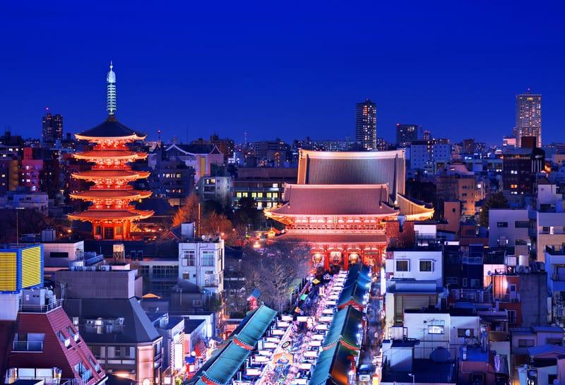 Asakusa Tokyo Gezilecek Yerler