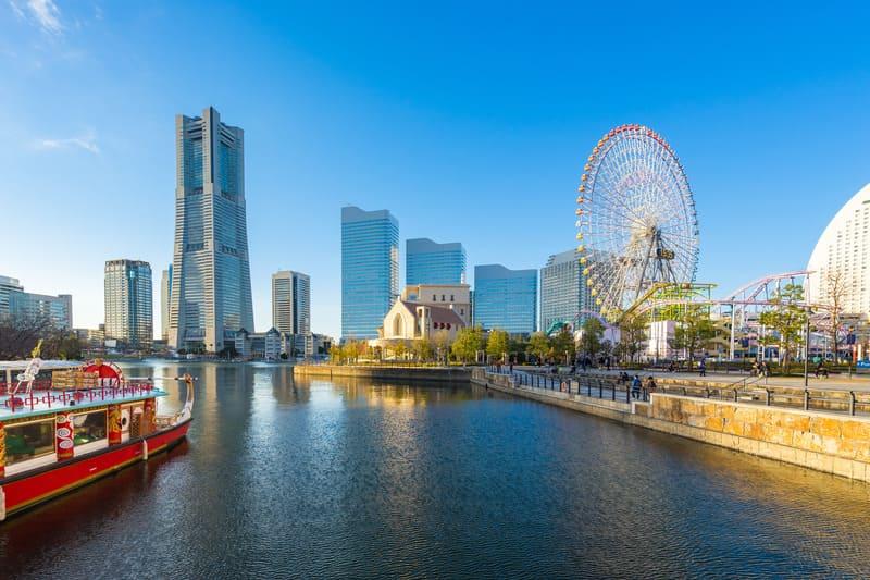 Yokohama Tokyo'da Gezilecek Yerler