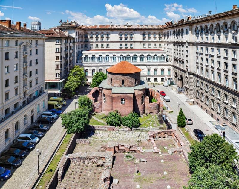 Aziz George Rotunda Kilisesi Sofya'nın En Güzel Dini Yapılarından