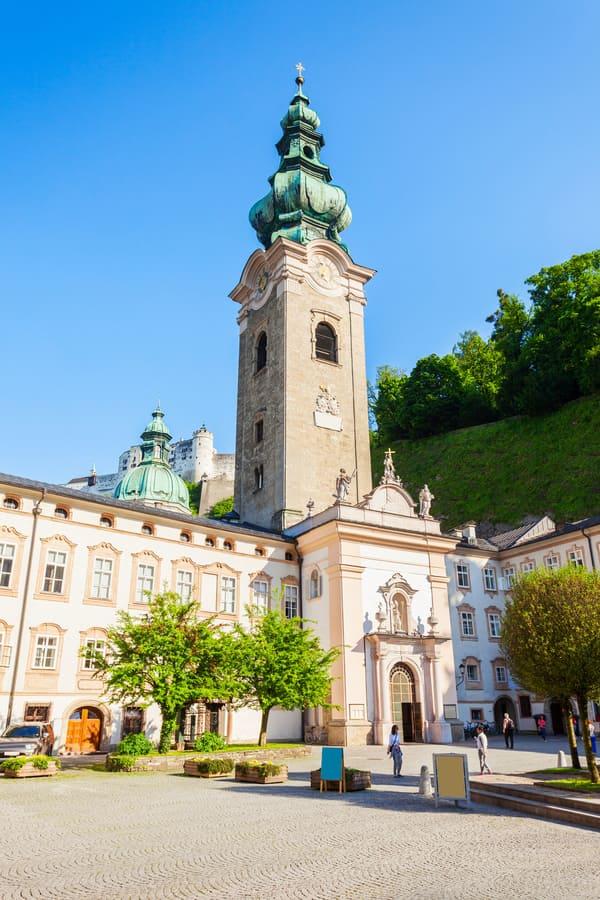Aziz Peter Manastırı Salzburg Gezilecek Yerler