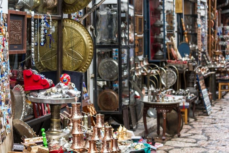 Bakırcılar Çarşısı Mostar Gezilecek Yerler