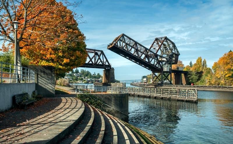Ballard Locks - Seattle Gezilecek Yerler Listesi