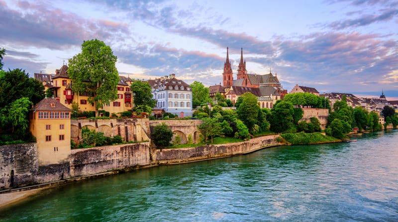 Altstadt Basel Eski Şehir Bölgesi
