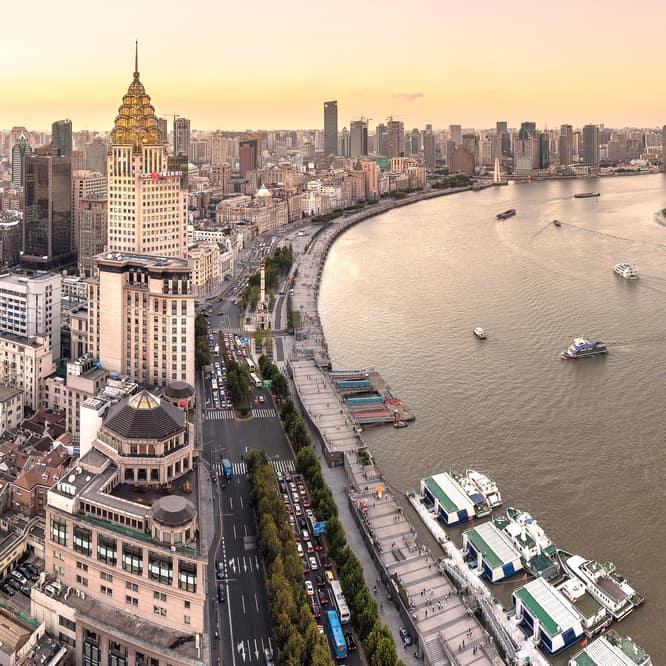 Bund Caddesi Şangay da Görülecek EN Güzel Yerler Arasında