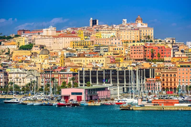 Cagliari Gezilecek Yerler