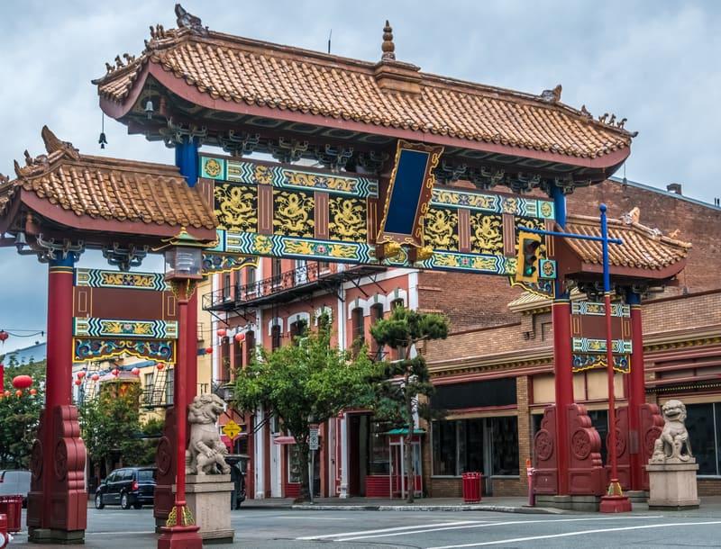 Chinatown - Çin Mahallesi Vancouver