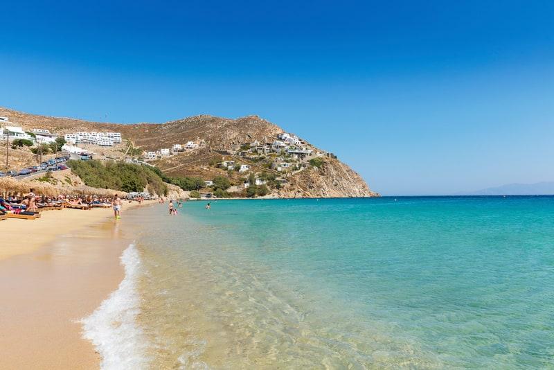 Elia Plajı Mykonos Gezilecek Yerler Listeesi