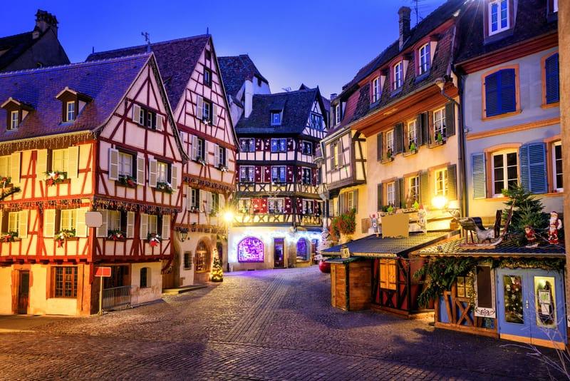 Eski Kasaba Bölgesi Colmar