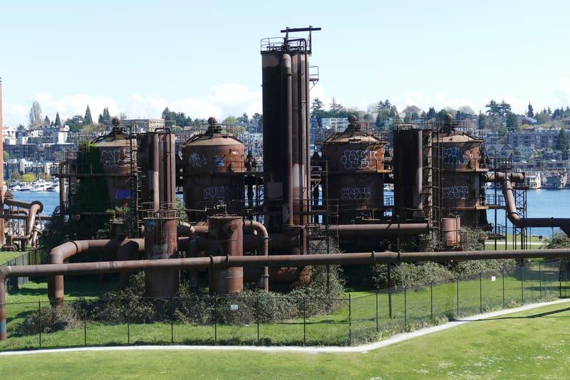 Gas Works Park - Seattle Görülecek Yerler