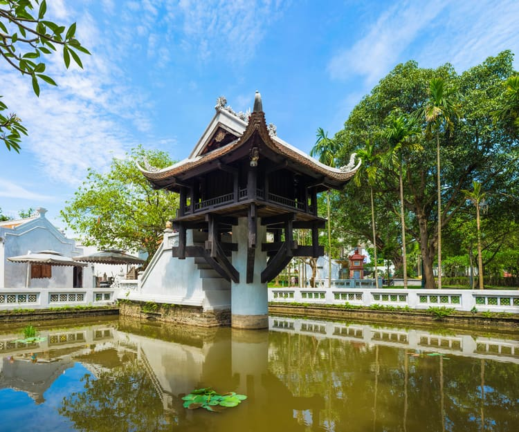 One Pillar Pagoda - Hanoi Gezilecek Yerler