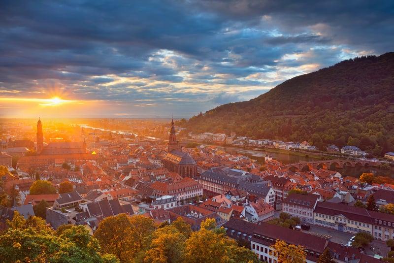 Altstadt - Eski ŞehirHeidelberg Gezisi