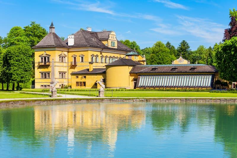 Hellbrunn Sarayı Salzburg Görülecek Yerler