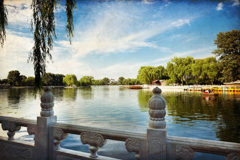 Houhai Gölü - Pekin de Gezilecek Yerler