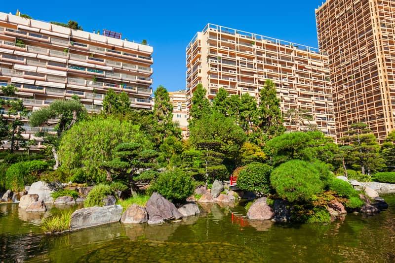 Japon Bahçesi - Monaco Gezilecek Yerler
