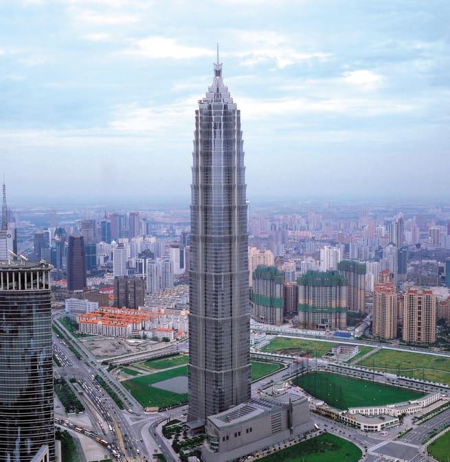 Jin Mao Kulesi Şangay'ın Görülecek En Güzel Yerleri Arasında