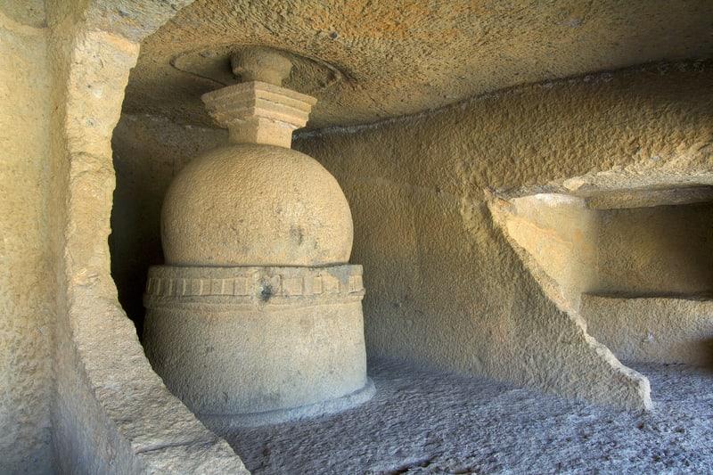 Kanheri Mağarası Mumbai Gezilecek Yerler