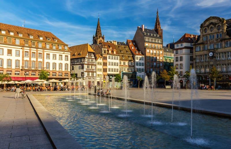 Kleber Meydanı - Şehrin En Canlı Yeri