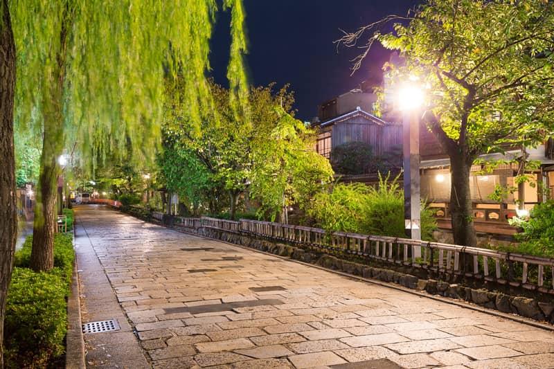 Kyoto Gion Bölgesi