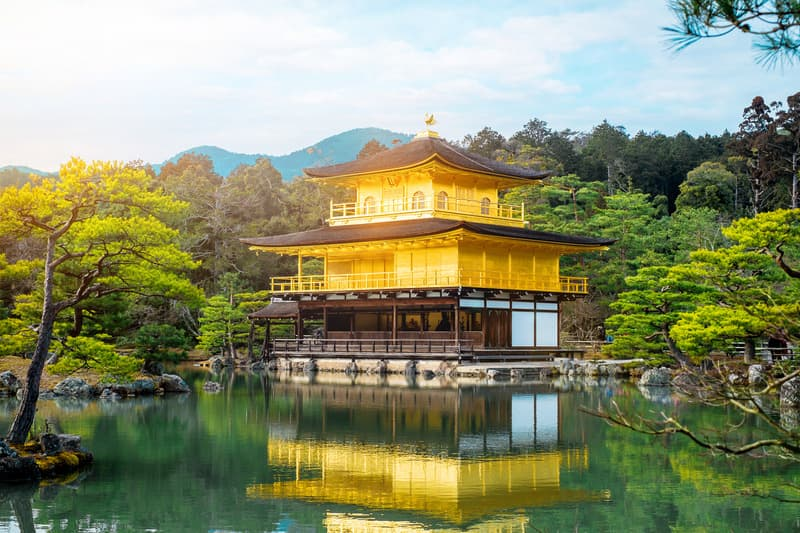Kinkakuji Tapınağı Kyoto gezilecek yerler