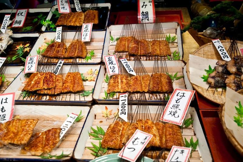 Nishiki Pazarı Kyoto