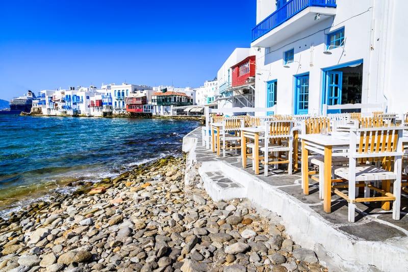 Little Venice Mykonos Adası