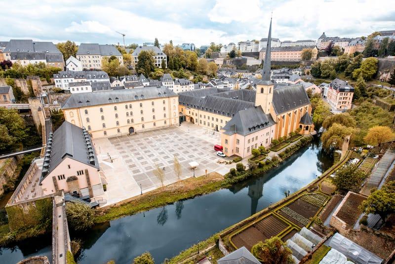 St John Kilisesi Lüksemburg